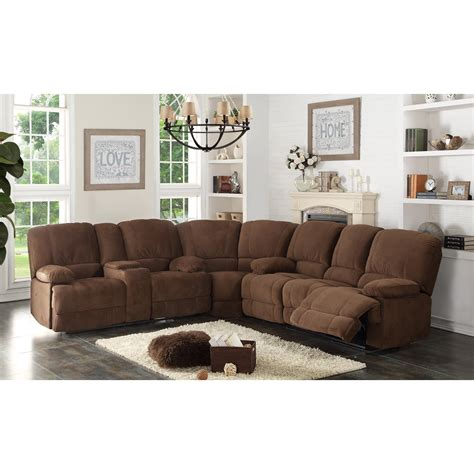 Sofa Sectional With Recliner ac pacific kevin 3 sectional sofa set sofas