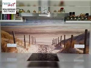 Küchenrückwand Glas Foto : k chenr ckwand foto glas nordsee strand auf langeoog ~ Michelbontemps.com Haus und Dekorationen