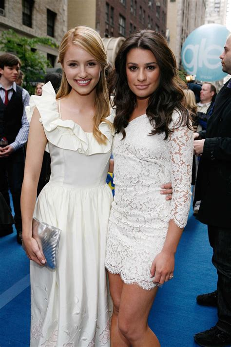 dianna agron glee los angeles premiere event