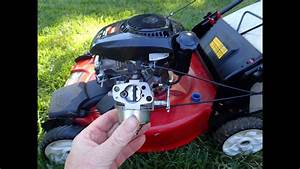 Toro Recycler Model 20370 Lawn Mower Kohler 6 75 Engine - Cleaning Carburetor Part Ii