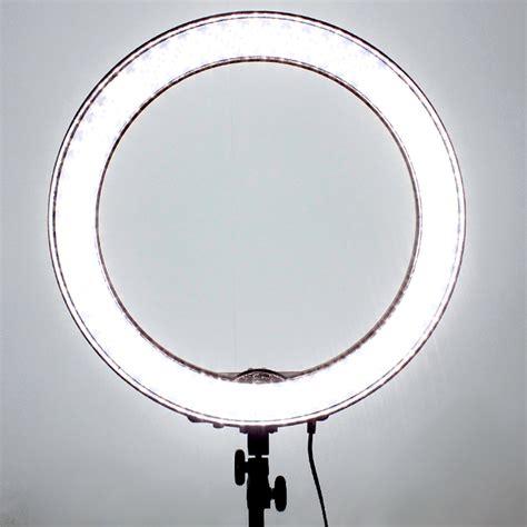 led ring light led smd 18 quot ring light dimmable 5500k 240pcs led lighting