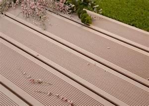 Lame Terrasse Bois Exotique : lame de terrasse en bois composite brun exotique profil ~ Dailycaller-alerts.com Idées de Décoration