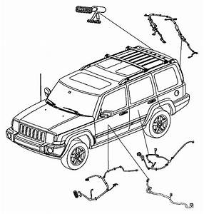 2006 Jeep Commander Wiring  Front Door  Driver  Drivers