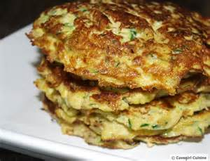 Yellow Squash and Zucchini Cakes
