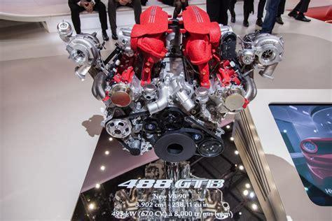 ferrari 488 engine motore ferrari 488 gtb video