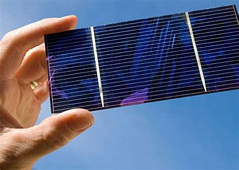 Новые солнечные элементы устроили революцию.