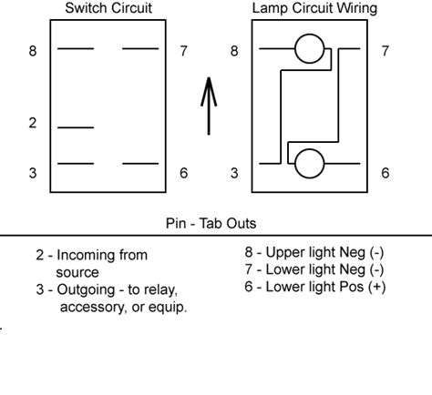 8 Terminal Rocker Switch Wiring Diagram by Wiring Up Carling Switches 4x4earth