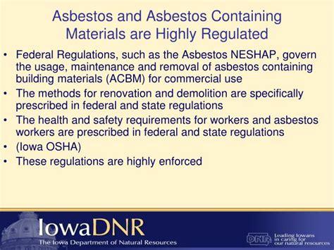 asbestos neshap powerpoint  id