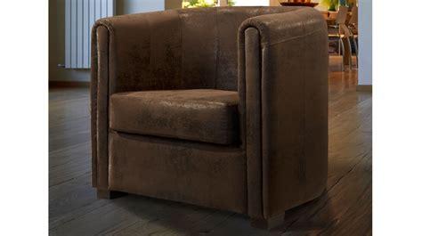 canapé livraison gratuite fauteuil cabriolet microfibre aspect cuir vieilli