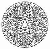 Mandalas Pintadas Dibujos Mandala Coloring Crazy sketch template