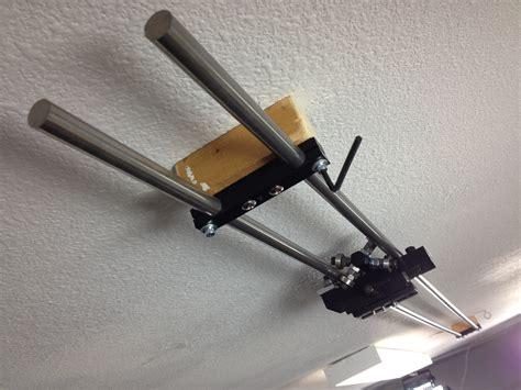 diy slider the 8 foot ceiling mounted diy slider chris duke