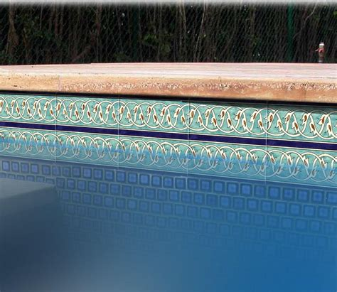 6x6 decorative pool tile swimming pool tiles 6 215 6 backyard design ideas