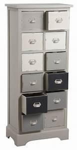 Commode 12 Tiroirs : commode 12 tiroirs en pin ~ Teatrodelosmanantiales.com Idées de Décoration