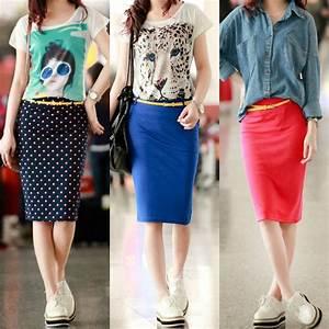 Best 25+ Long pencil skirt ideas on Pinterest | Long black pencil skirt Pencil skirts and ...