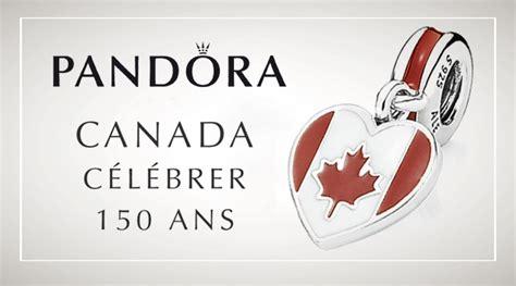 The Pandora Canada 150 Charm