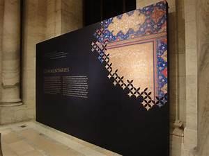 Exhibition design, entrance treatment using a hide-away ...