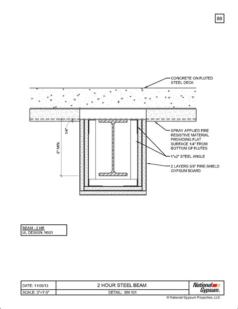 1 Hour Fire Rated Concrete Floor Assembly Gurus Floor