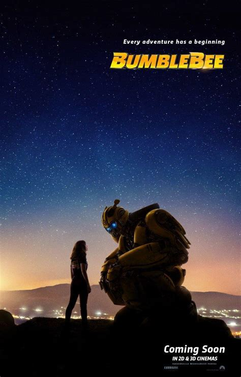 New Transformers Spinoff 'bumblebee' Movie Poster Revealed