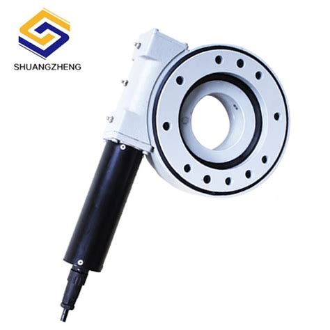 Electric Motor Weights by China Customized Light Weight Electric Motor Slewing Drive