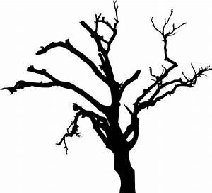 10 Spooky Dead Tree Silhouette (PNG Transparent) Vol. 2 ...