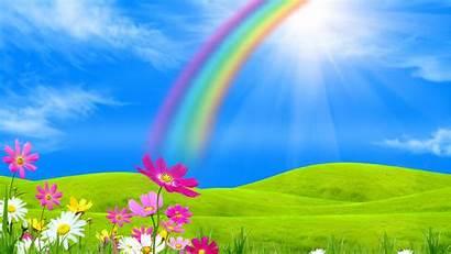 Sunshine Rainbow Wallpapers Wallpapersafari