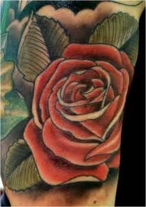 Different Color Rose Tattoos