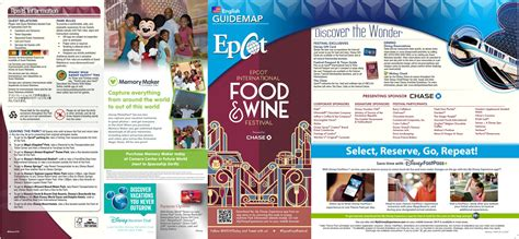 list of international cuisines 2015 epcot international food and wine festival park map
