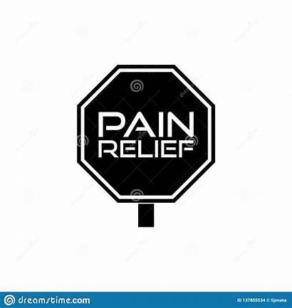 Pain Relief Icon Exit