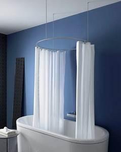 Duschvorhangstange Für Badewanne : duschvorhangstange f r freistehende badewanne energiemakeovernop ~ Markanthonyermac.com Haus und Dekorationen