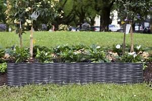 Bordure Jardin Pvc : bordure d corative type 13 rotin pvc pyramides bordures d coratives et gazon windhager ~ Melissatoandfro.com Idées de Décoration