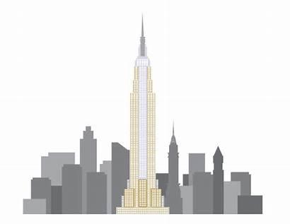 Manhattan Drawing Skyline Skyscraper Illustrations Clipartmag