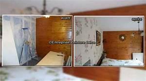 Decolle Papier Peint : poser de papier peint intiss d colle tapisserie raccord vinyle ~ Dallasstarsshop.com Idées de Décoration