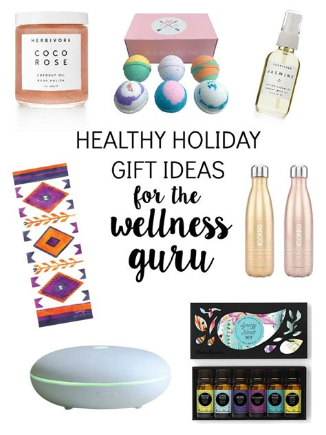 healthy holiday gifts for the wellness guru the glowing