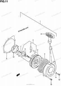 Suzuki Atv 2000 Oem Parts Diagram For Recoil Starter
