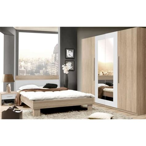 cdiscount chambre a coucher adulte chambre compl 232 te adulte achat vente chambre compl 232 te