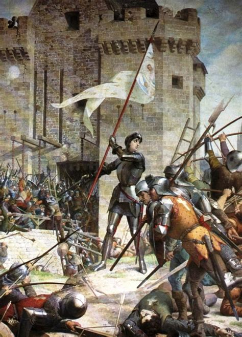 the siege of orleans la hirein joan of arc 39 s footsteps