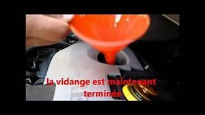 Vidange Twingo 2 : tuto 2 2 faire la vidange d 39 une renault twingo 1 2 16 v how to change engine oil hd youtube ~ Gottalentnigeria.com Avis de Voitures