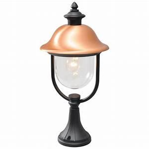 Lampe De Jardin : lampe de jardin lanterne noire cuivr e ~ Teatrodelosmanantiales.com Idées de Décoration