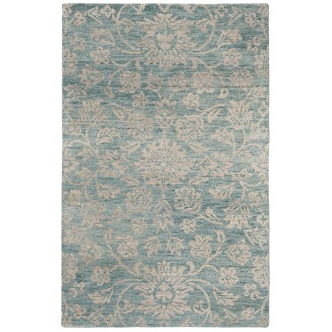 teal grey rug home decorators collection yves teal grey 5 ft x 8 ft