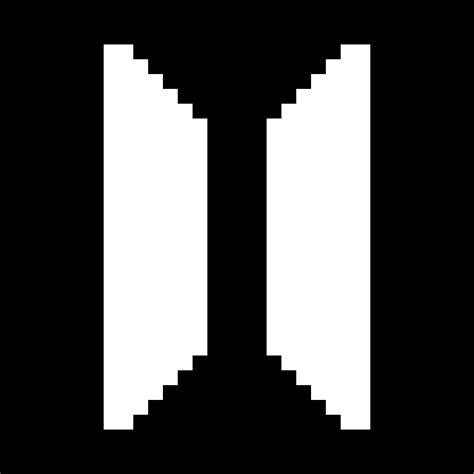 Pixilart - Bts logo gif by Sam-half