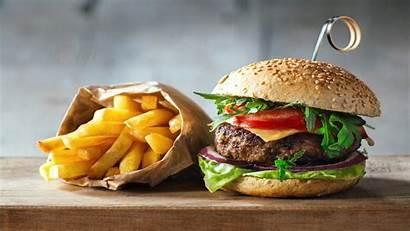 Hamburger Wallpapers Burger Chips