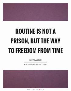 Routine Quotes | Routine Sayings | Routine Picture Quotes