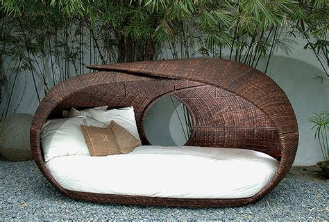 furniture comfortable wicker outdoor daybed for