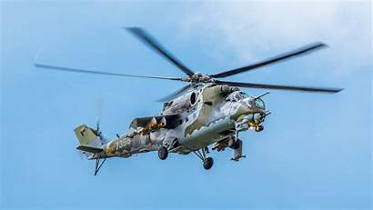 Gunship Helicopter Mil Mi
