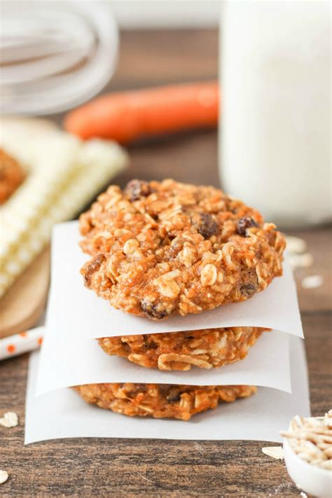 healthy chocolate chunk banana oatmeal cookies
