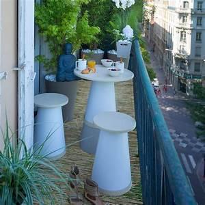 Jardin Et Balcon : salon de jardin pour balcon zen totem grosfillex zendart ~ Premium-room.com Idées de Décoration