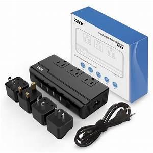 Voltage Converter 220v To 110v With 4 Usb Ports  5v  2 1a