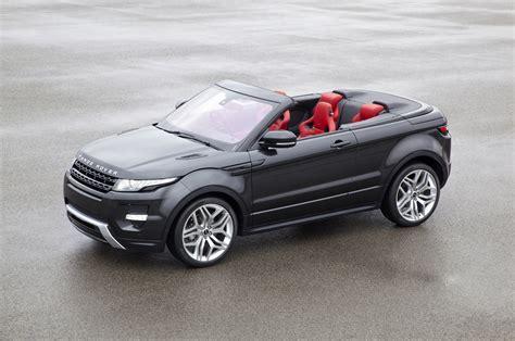 Range Rover Evoque Convertible Announced