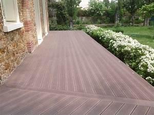 Lame Terrasse Composite : lame terrasse en bois composite mdsa france ~ Premium-room.com Idées de Décoration