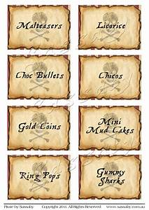 Pirate Party Labels